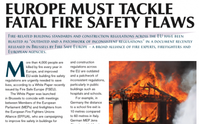Europe must tackle fatal fire safety flaws