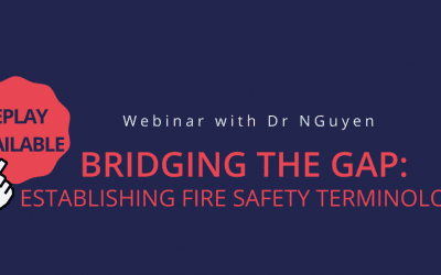 Insights from developing a fire terminology glossary webinar